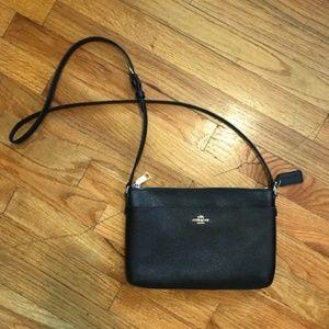 Coach black crossbody bag